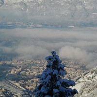 Zuid- Tirol in de winter