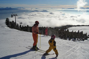 The Rittner Horn ski area is ideal for families.