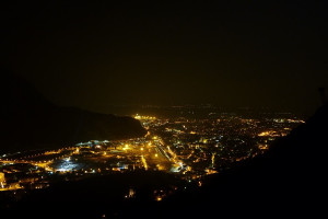 Evening mood over Bolzano