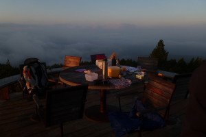 Highlight - Breakfest at sunrise at the Rittner Horn