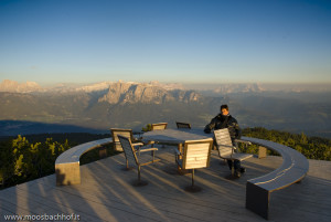 The prettiest 360° view in South Tyrol