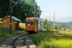 Renon's historic narrow-gauge railway